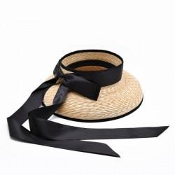 Соломенная шляпа Clyde с открытым верхом