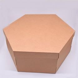 Шестигранная коробка для шляп